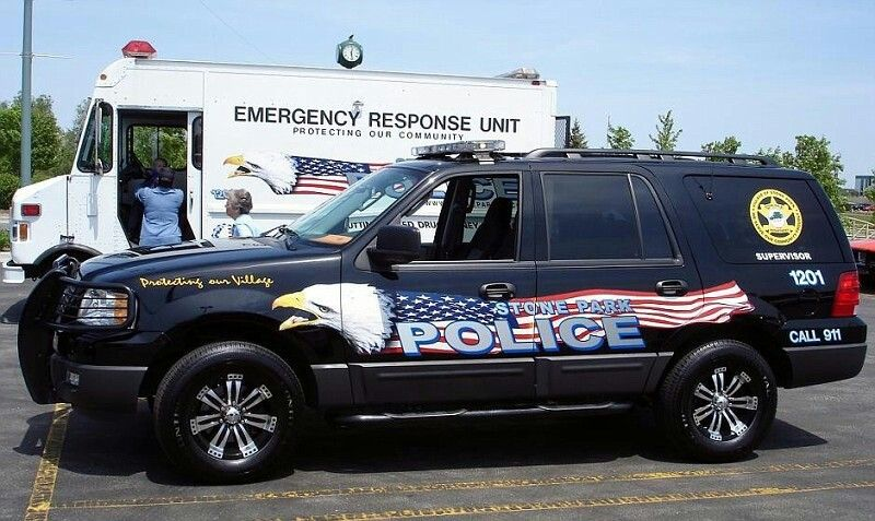 Stone Park Police >> Stone Park Il Police Supervisor 1201 Ford Expedition