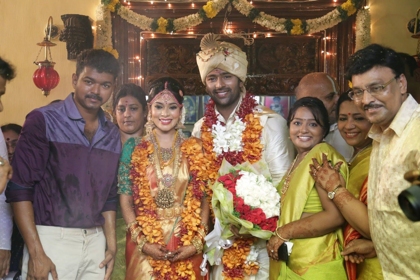 Actor Vijay At Shanthanu Keerthi Wedding Photos Kollywoodstar Com Marriage Photos Celebrity Weddings Big Indian Wedding