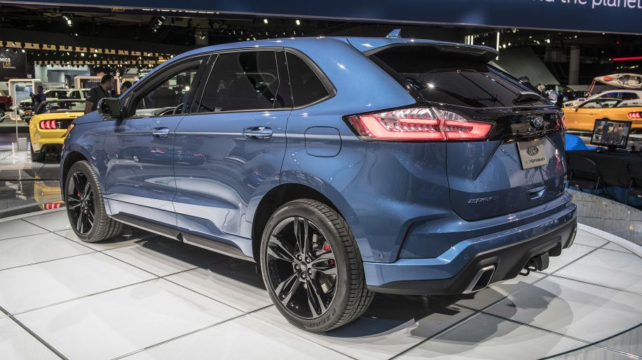 2019 Ford Edge ST Detroit 2018 Photo Gallery Samochody