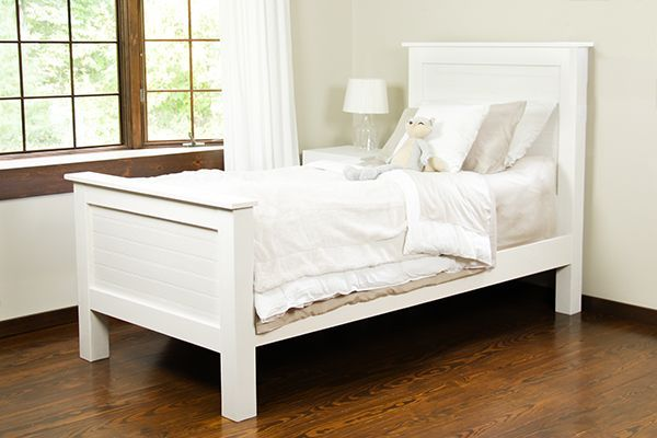 DIY Bed Frame Made From Tongue and Groove Planks | Pinterest | Bricolaje