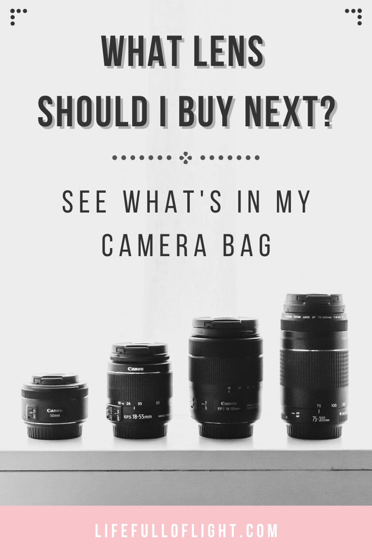 What Lens Should I Buy Next See What S In My Camera Bag Photography Gear Digital Camera Photography Photography