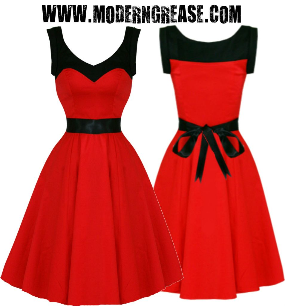 Modern Grease Clothing and Accessories Co. - Color Block Red Black ...