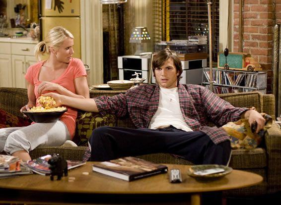 """Cameron Diaz e Ashton Kutcher em JOGO DE AMOR EM LAS VEGAS (What Happens in Vegas). 1- """" -Olha, você é como um filho pra mim.  - Pai! Eu sou seu filho."""""""