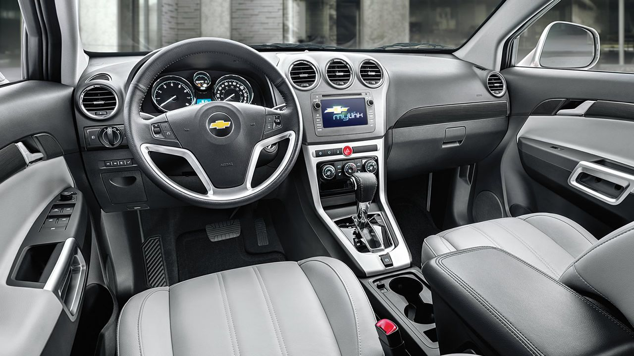 Chevrolet Captiva Sport 2014 Caracteristicas Fotos Y Precio De