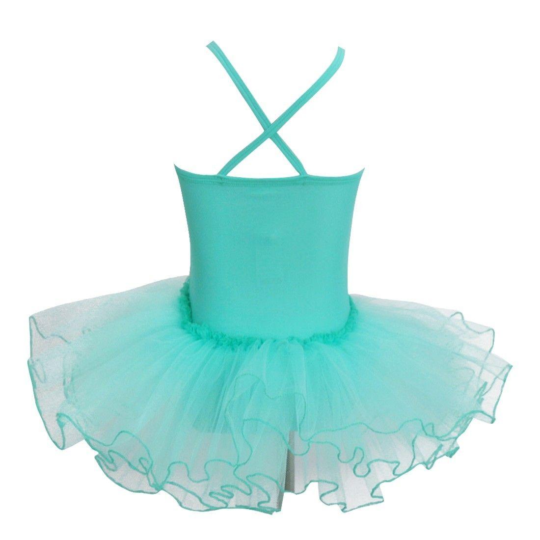 e5b240a07 iEFiEL Kids Girls Princess Tutu Ballet Dance Dress Leotard Dancewear ...