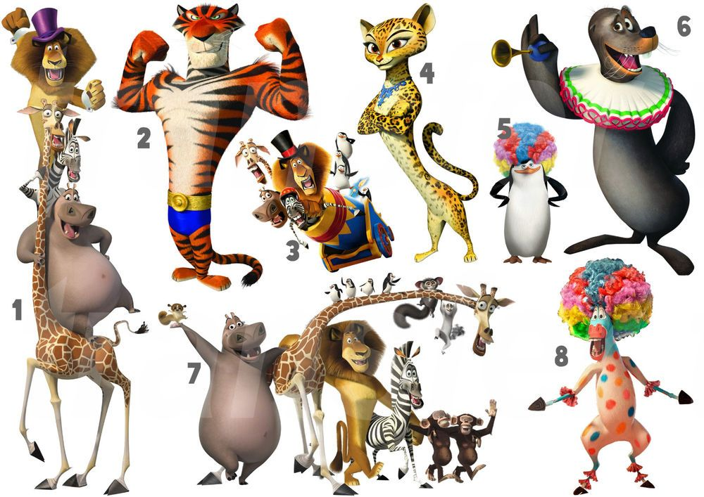 Madagascar 3 for printing-Images and pictures to print