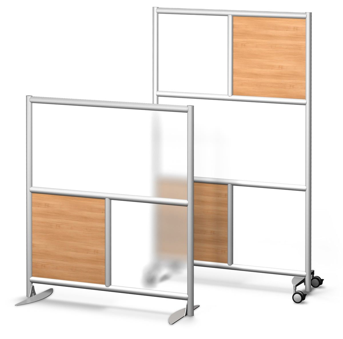 Free standing wall divider - Urban Wall Room Divider Walls Free Standing And 4 Wheel 49 X54
