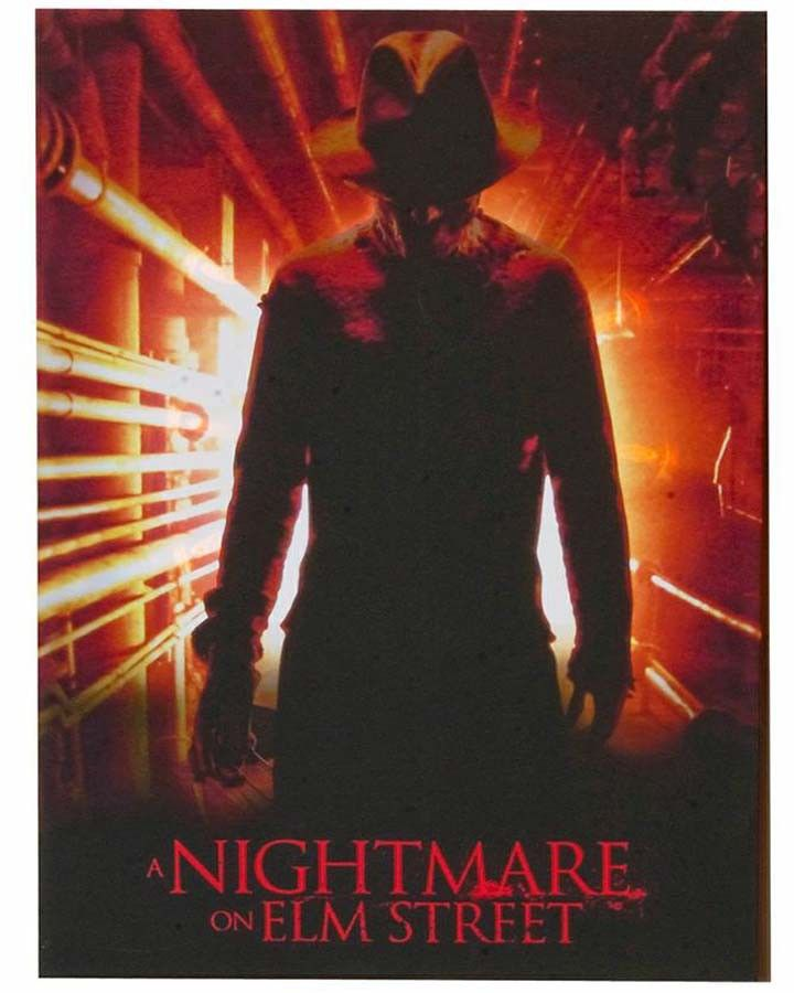 Nightmare on Elm Street Light Up Portrait Decor #Halloween2013