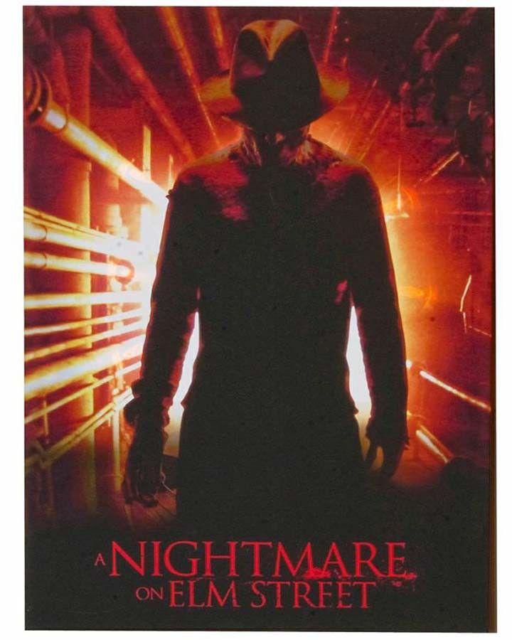 Nightmare on Elm Street Light Up Portrait Decor #Halloween2013