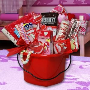 Valentine Baskets For Kids Valentine Gift Baskets Gift And Holidays