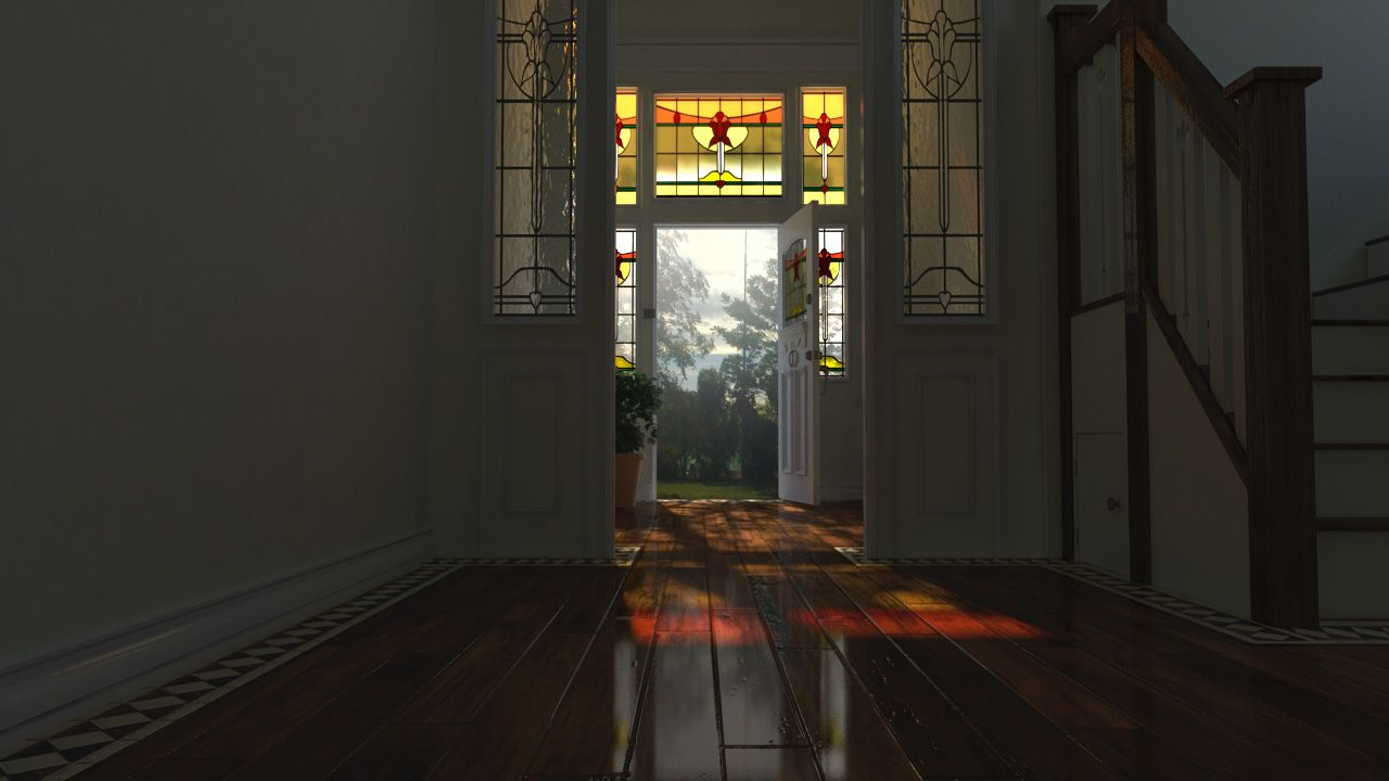 Physically Accurate Lighting in mental ray Maya Tutorial in
