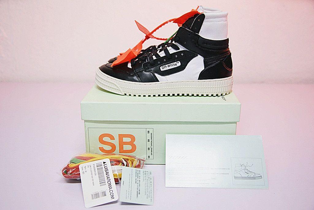 Off Weiß 3.0 Niedrig Off Court Sneaker BLACK & Weiß Weiß &   Virgil Abloh Off b47909