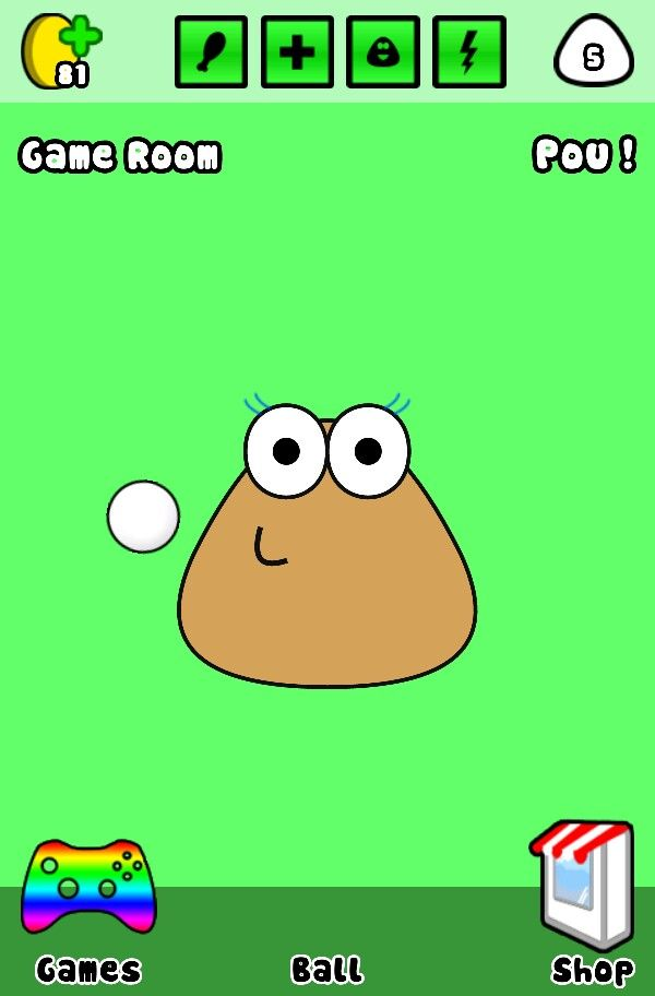 From the game Pou