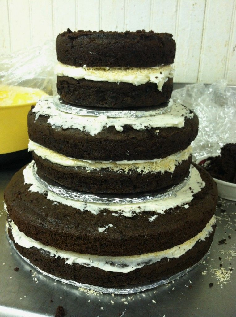 Gfdf chocolate wedding cake recipe and how to stack and