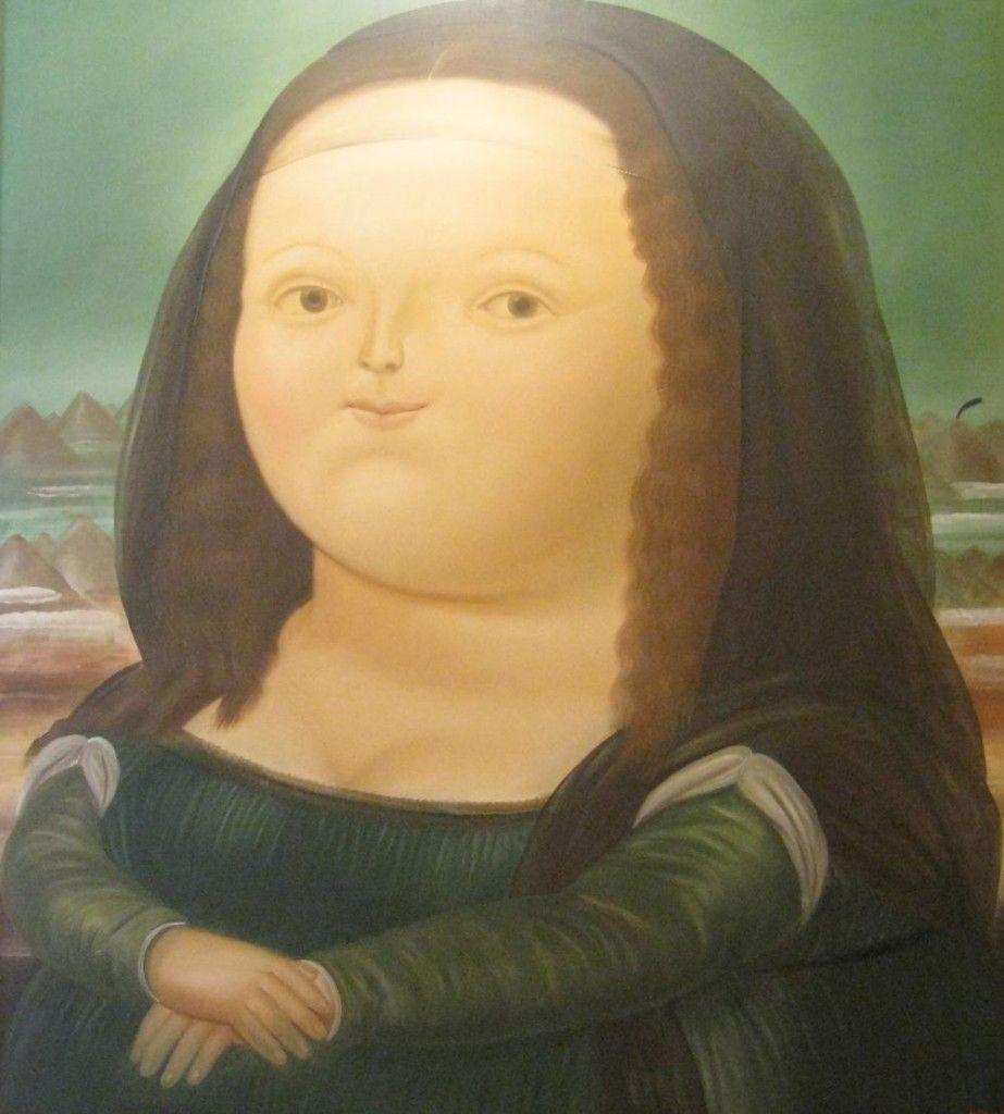 Mona Lisa Fernando Botero est né en Colombie  Medellin le 19 avril Il a juste quatre ans lorsque son p¨re représentant de merce qui prospecte sa