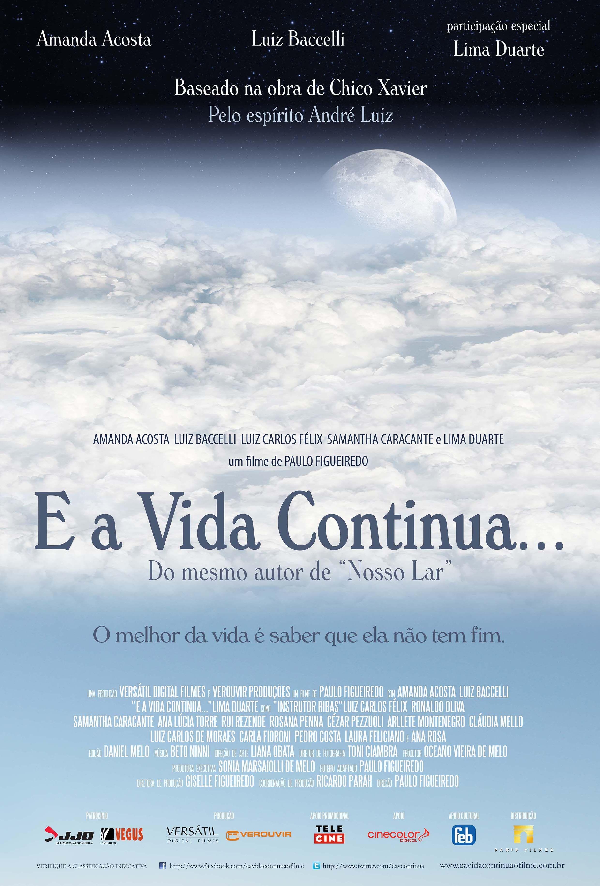 E A Vida Continua Filmes Espiritas Completos Filmes E Livros
