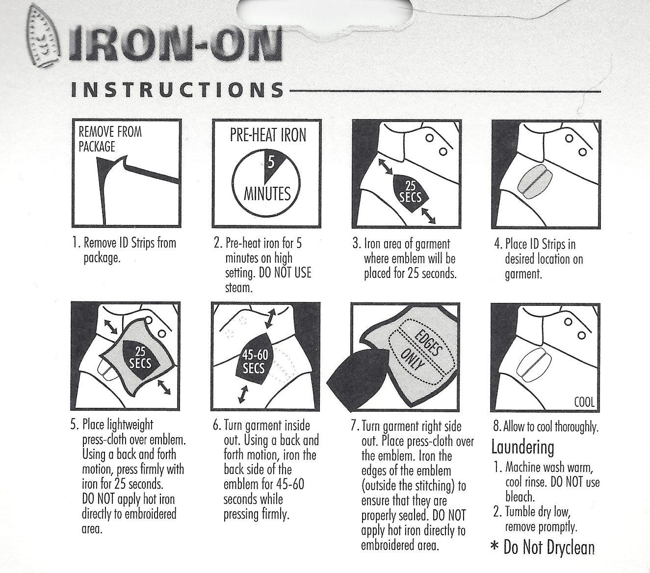 Directions For Iron On Patchesbadges My Girl Scouts Pinterest