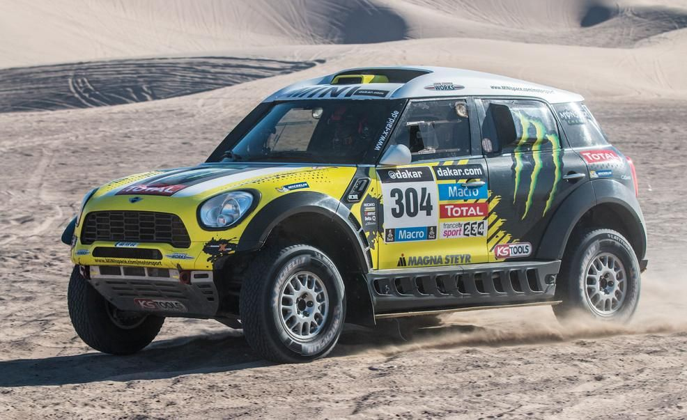 mini cooper countryman all4 racing dakar rally car photo. Black Bedroom Furniture Sets. Home Design Ideas