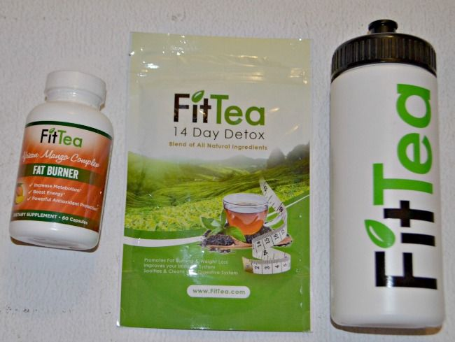 Fit Tea 14 Day Detox Tea and Fat Burner Supplement | Fab