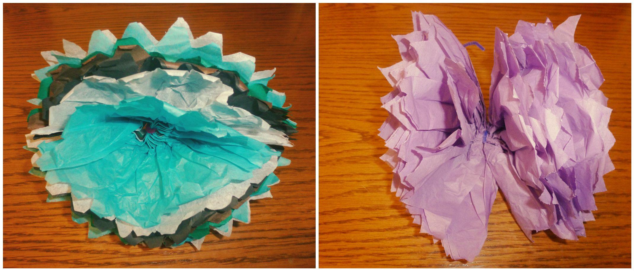 Tissue paper flowerpipe cleaner tissue paper and scissors are all tissue paper flowerpipe cleaner tissue paper and scissors are all you need mightylinksfo