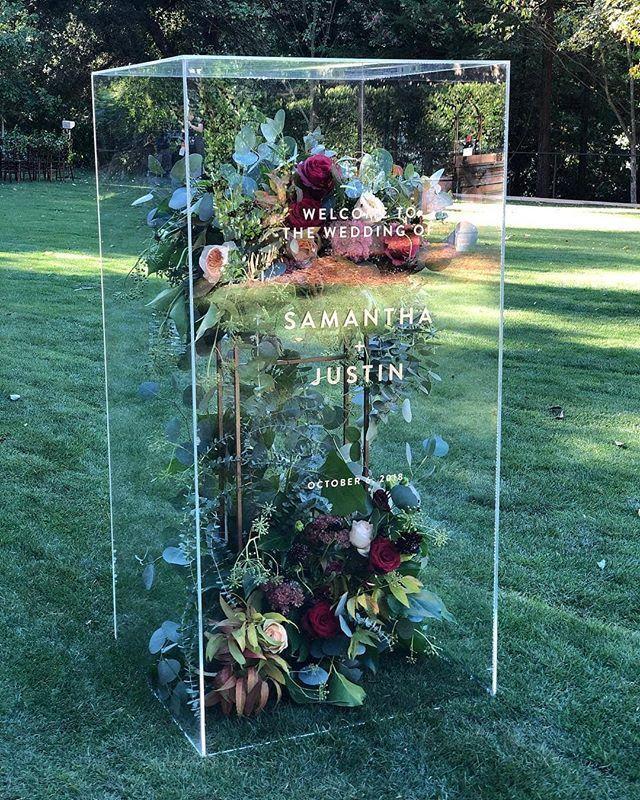 El fin de semana pasado fue un sueño absoluto … ROQUE Events diseñó una boda increíble f