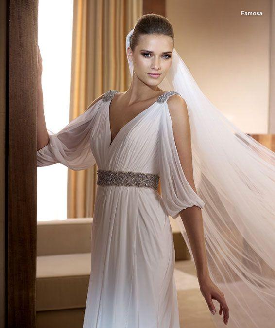 оригинальные свадебные платья в виде туники - Поиск в Google   Идеи ... 973ba6764b4