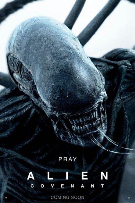Alien Covenant Movie Poster Art Print A0 A1 A2 A3 Maxi