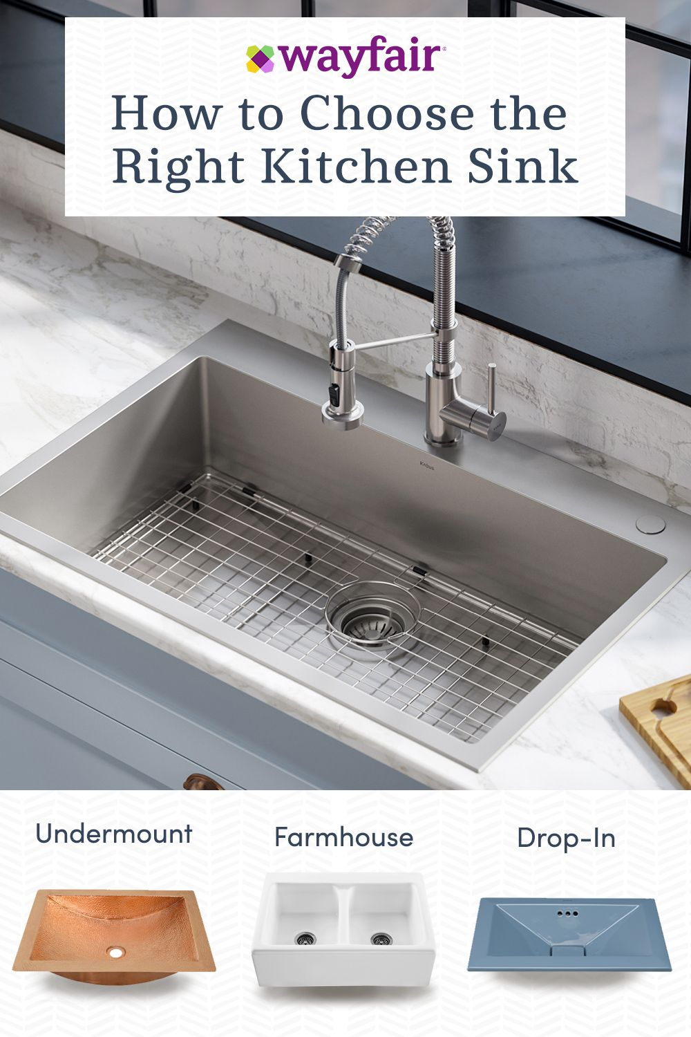 Check Out Kitchen Sink Ideas From Wayfair And Create Your Dream