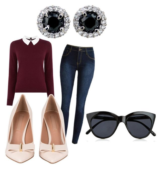 """&#"" by hillsong on Polyvore featuring Oasis and Le Specs"