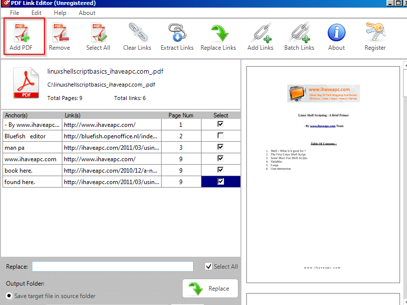 Pdf Link Editor How To Remove Ads Pdf
