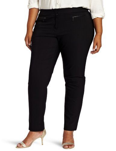 DKNYC Women's Plus-Size Skinny Pant DKNYC. $42.80. The new superstretch fabric give you support.. Machine Wash. Made in China. The styling gives you a clean and polished skinny pant look.. 56% Cotton/41% Nylon/3% Elastane
