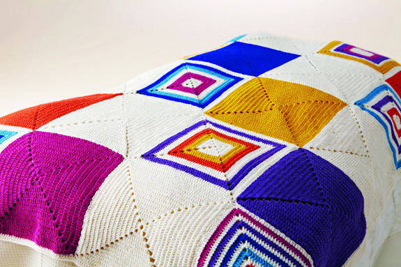 Create this stunning blanket, the pattern is found in issue one www.simplycrochetmag.com