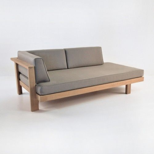 Teak Warehouse Cabo Right Daybed 80x42x30h 2395 Pad
