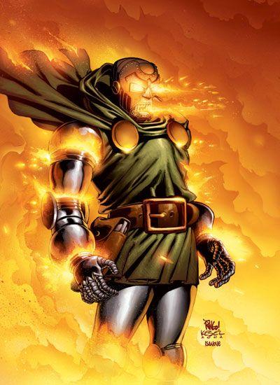 Doctor Doom Victor Von Doom Marvel Universe Wiki Comic Villains Fantastic Four Doctor Doom Marvel