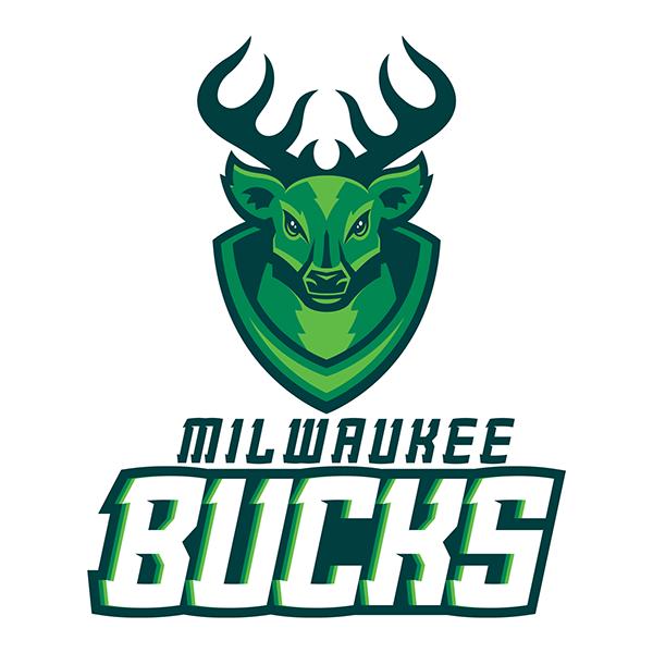 Milwaukee Bucks On Behance Milwaukee Bucks Sports Team Logos Sports Logo Design