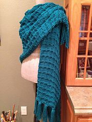 Ravelry: Double Andalusian Stitch Prayer Shawl pattern by Louis Chicquette