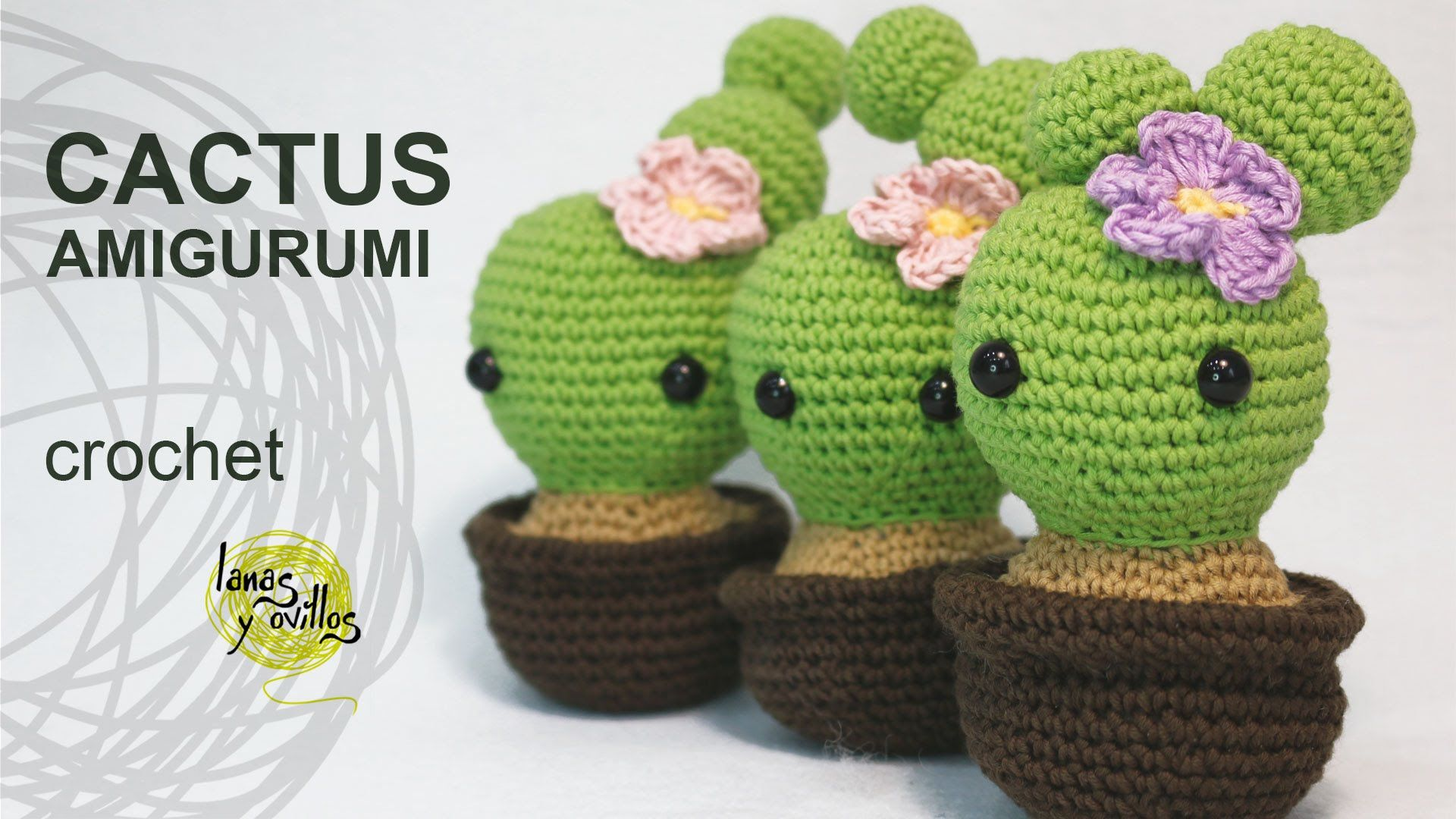 Tutorial Cactus Amigurumi (English Subtitles) | bmo | Pinterest ...