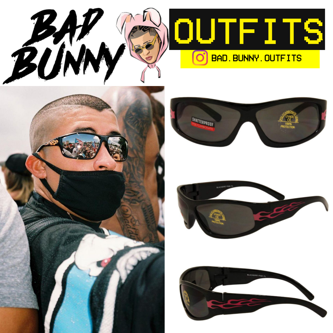 Bad Bunny Outfits Fireeeee Ropa Outfits Lentes De Sol