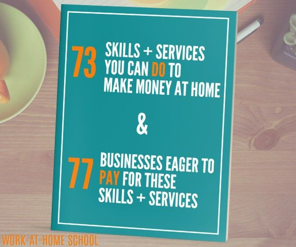 Work From Home Jobs, Working