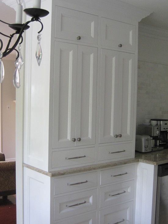 Shallow Pantry Cabinets Design, Pictures, Remodel, Decor ...