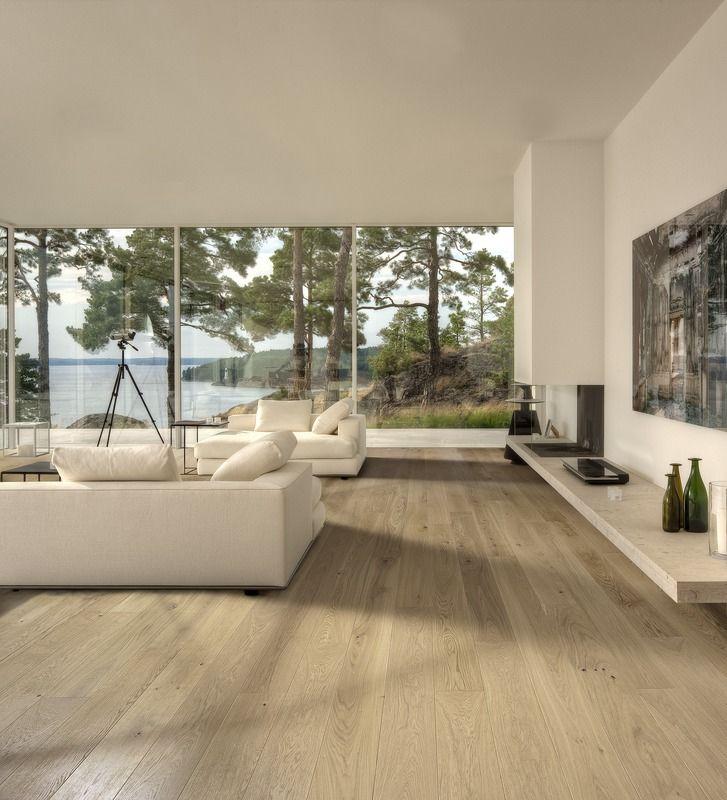 OAK NOUVEAU WHITE   CLASSIC NOUVEAU COLLECTION #wood #style #sweden  #interiors #interiordesign #woodflooring #design #inspiration #kährs #oak  #inspo
