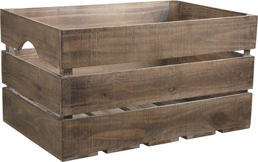 caisse de rangement en bois avec ardoise sur | caisse de rangement