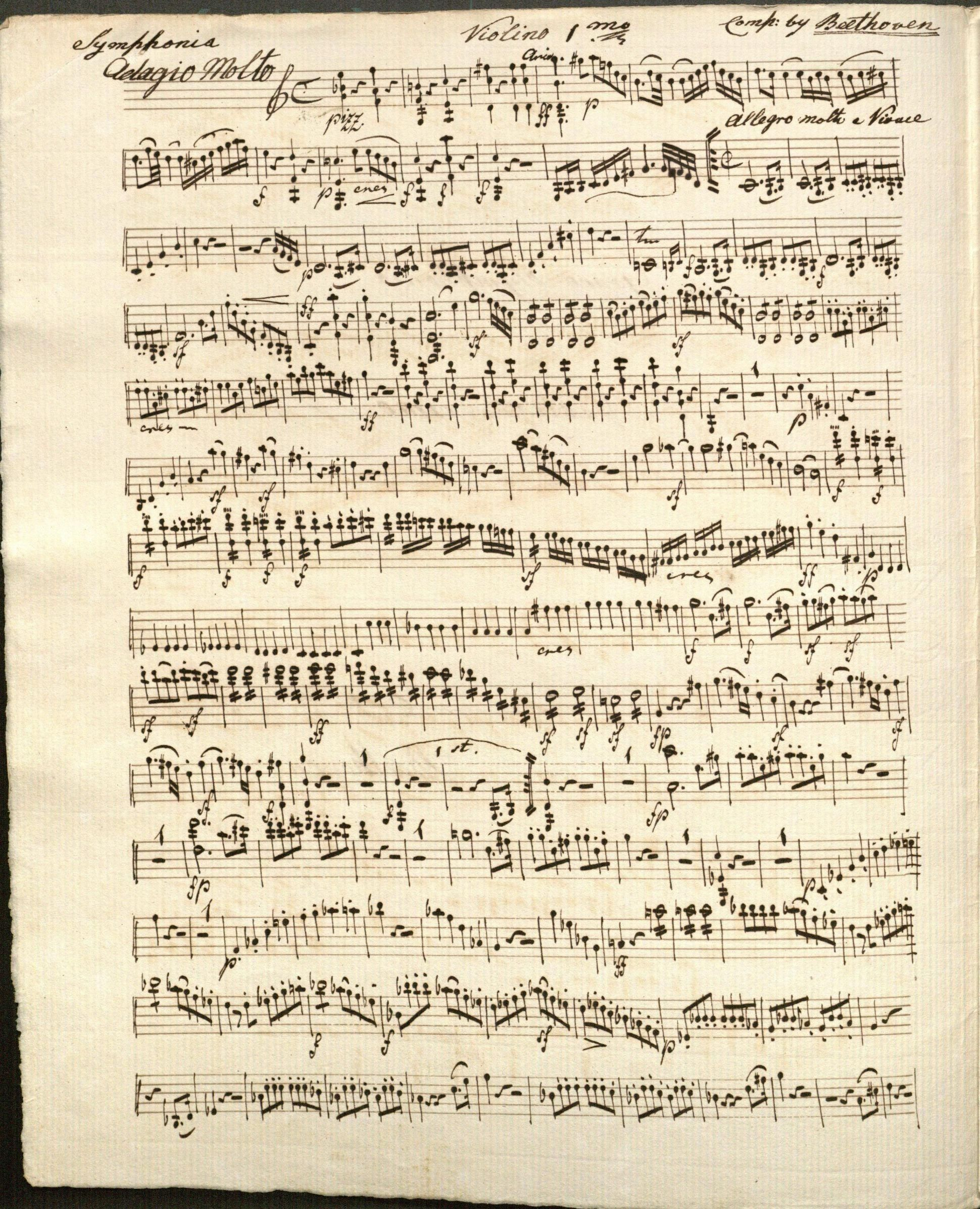 music ludwig van beethoven Ludwig van beethoven is one of the world's most famous and influential composers of classical music -- learn the facts, life, and music of.