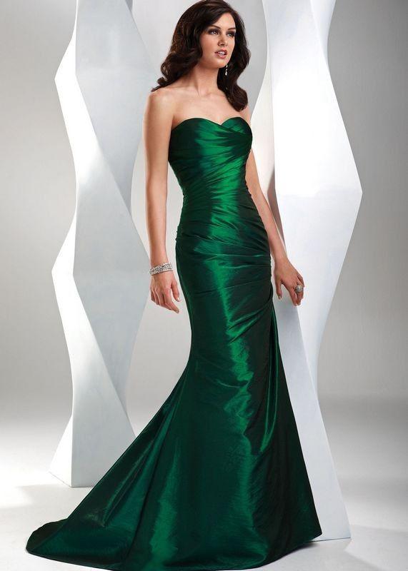 99a880eec Vestidos verde esmeralda para verano 4