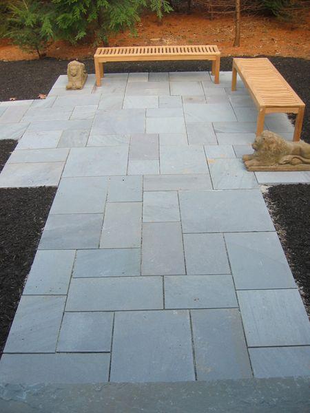 Google image result for http wwwlandcareassociatescom for Blue stone paver patio