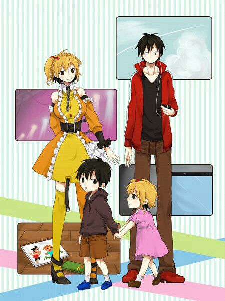 Momo & Shintaro | Kagerou Project