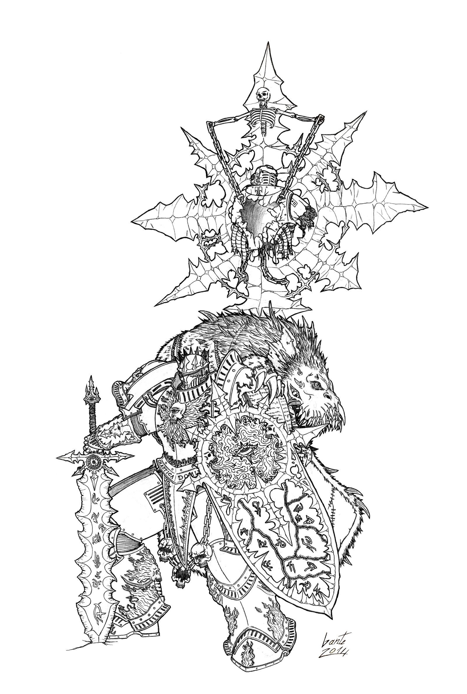 The Ruined King By Greyall On Deviantart Warhammer Art