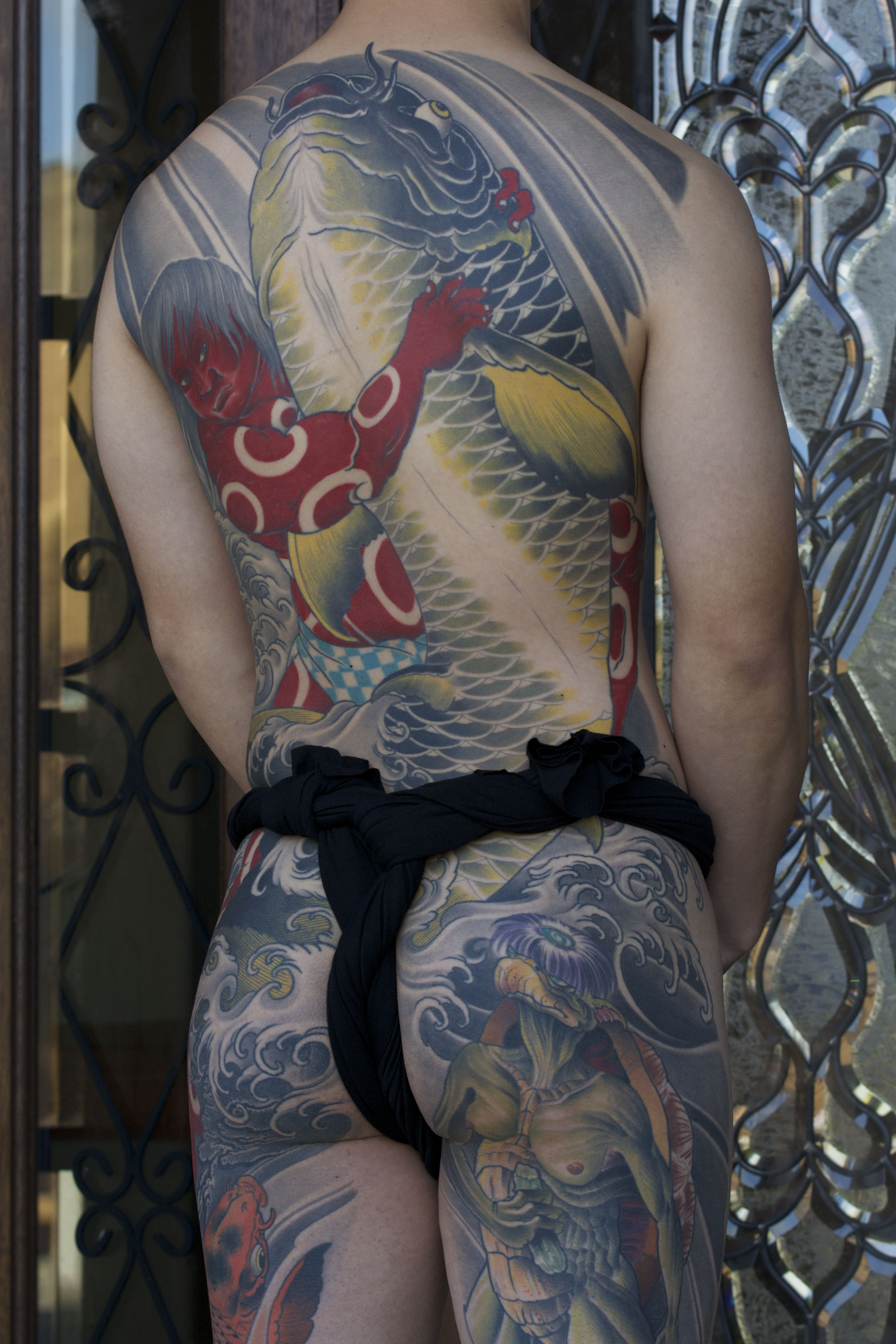 Kintaro tattoo by bill canales full circle tattoo san for Japanese tattoo chicago