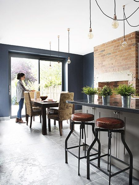 Kitchen Case Study Creating An Industrial Style Kitchen Diner Real Homes Industrial Style Kitchen Kitchen Diner Open Plan Kitchen Living Room
