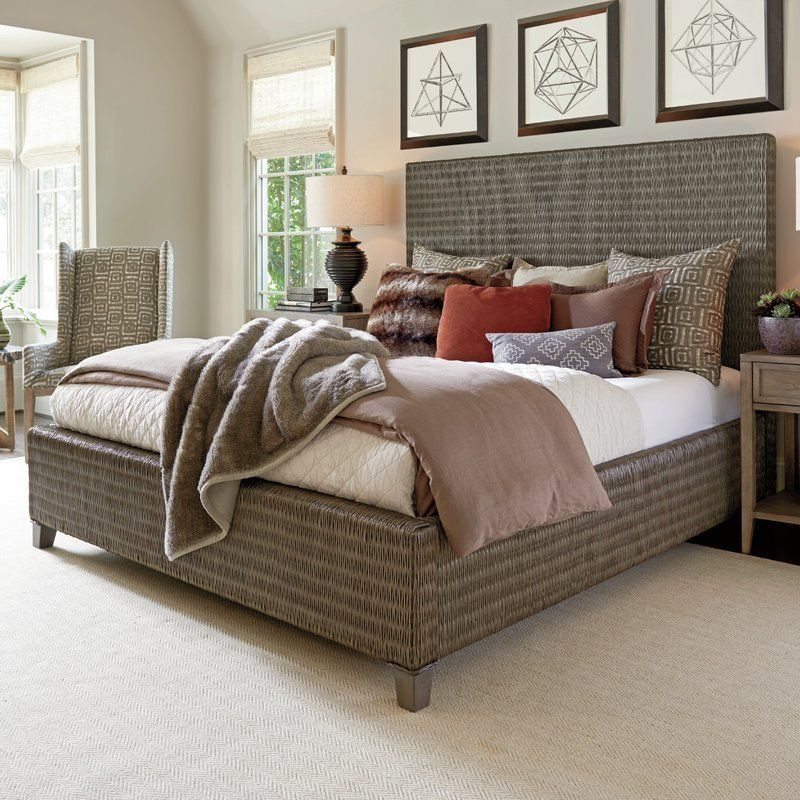 Cypress Point Standard Bed Bed sizes, Bed, Upholstered